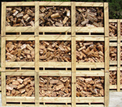 store and dry seasoned firewood